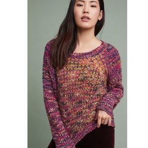Anthropologie Moth Hillwalk Chunky Sweater